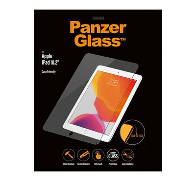 PanzerGlass Apple iPad 10.2 inch Case Friendly Edge to Edge, Clear