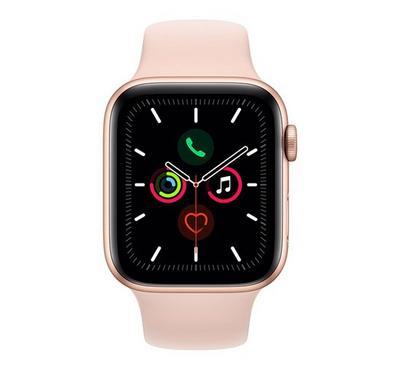 Apple SERIES 5 44mm Smartwatch Aluminum 4G Sport Band Gold