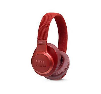 جي بي إل ،سماعة لاسلكية، فوق الأذن، أحمر