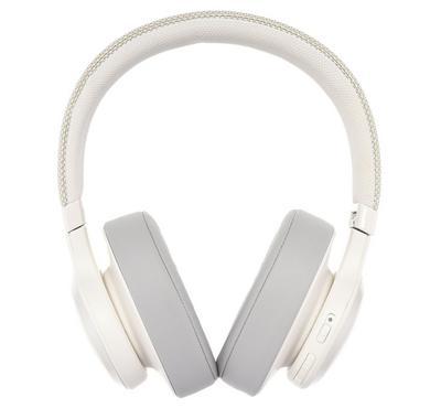 جي بي إل ،سماعة لاسلكية ،فوق الأذن، أبيض