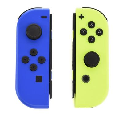 Nintendo Switch Joycon Controller, Blue/Yellow