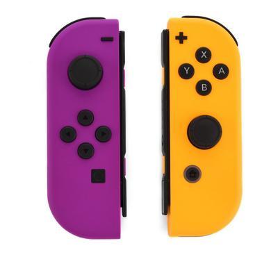 Nintendo Switch Joycon Controller, Purple/Orange