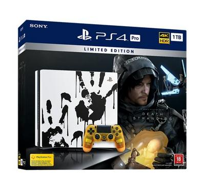 PlayStation 4 1TB PRO + 1 Controller + Death Stranding Game
