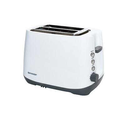 Sharp 2 Slice Toaster 850W White