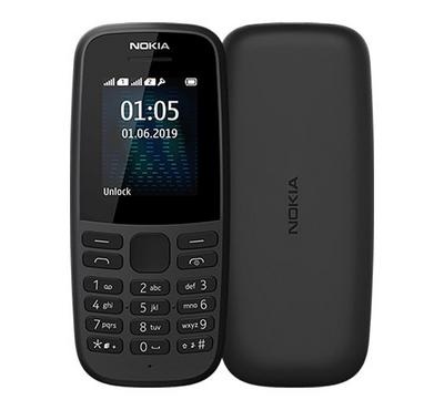 Nokia 105 Dual SIM 4MB Black