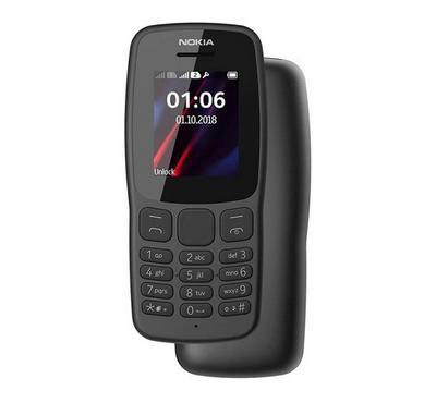 Nokia 106 Dual Sim 4MB Grey