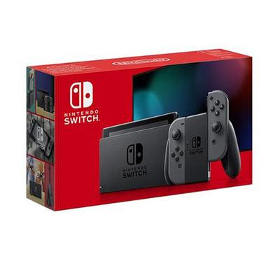 Nintendo Switch Grey Console + 2 Assorted Games
