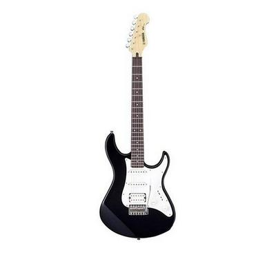 Yamaha, Electric Guitar Package with a single-coil PU and double humbucking PU, Black