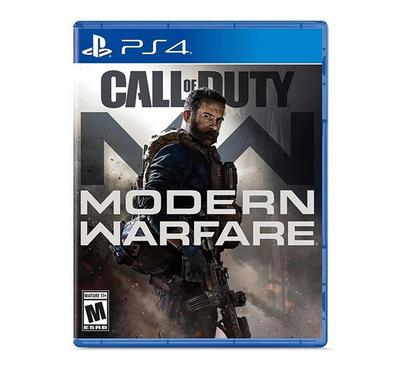 Call Of Duty Modern Warfare Pegi PS4.