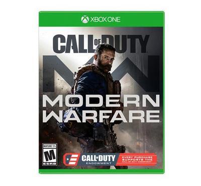 Call Of Duty Modern Warfare PEGI XBOX1.