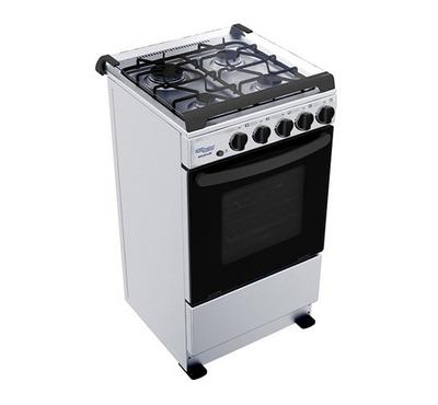 Super General Cooker 50X50 Freestanding,4 Gas Burner,Full Safety,Stainless Steel..