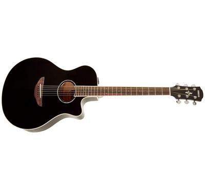 Yamaha, Electric Acoustic Guitar, Black