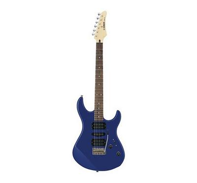 Yamaha Electric Guitar Package with a single-coil PU and double humbucking PU, Metallic Blue