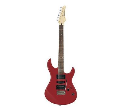 Yamaha Electric Guitar Package with a single-coil PU and double humbucking PU, Metallic Red
