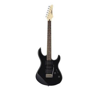 Yamaha, Electric Guitar Package with double single-coil PU and a humbucking PU, Black
