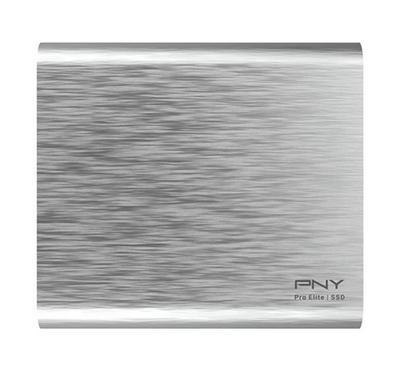 "PNY PRO ELITE 500GB 2.5"" Portable SSD USB3.1 Gen 2 Silver"