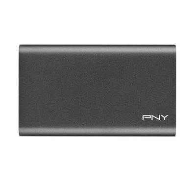"PNY ELITE 960GB 2.4"" Portable SSD USB3.1 Gen 1 Dark Grey"