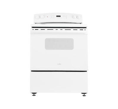 Mabe 76x73cm Electric Cooking Range US Style 2600W White