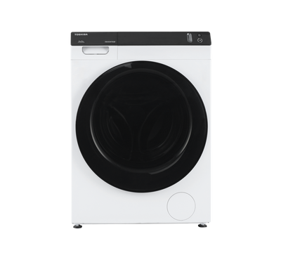 Toshiba Front Load Fully Automatic  Washer 8kg, Dryer 8kg Combo Premium, White