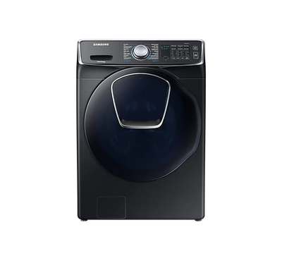 Samsung Washer 17.5kg, Dryer 9kg, Front Loading, 1100 RPM, Black