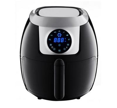 Emjoi Air Fryer 5.5L 1800W, Stainless Steel, Black/Silver