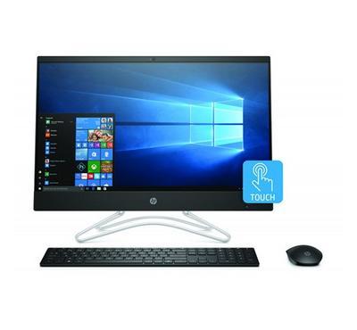 HP 24,AIO Desktop, Core i7, 23.8 inch Touch screen, WiFi, BT, Webcam, Windows 10, Jet Black