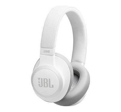 JBL LIVE 650BTNC On-Ear Headphones, White