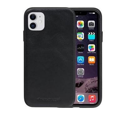 Dbramante1928 Herning  iPhone 11 Leather Case, Black