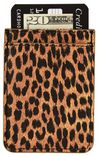 iDecoz Phone Pocket Faux Leather, Leopard