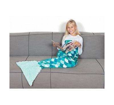 كانجرو، بطانية للأطفال على شكل حورية البحر، وردي