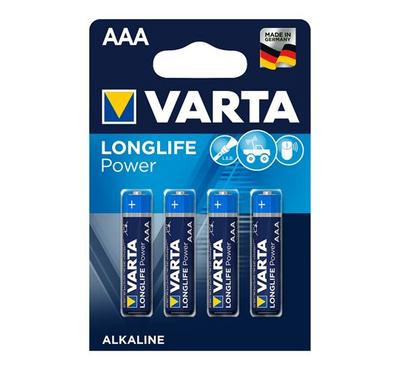 Varta AAA Alkaline Heavy Duty Batteries 1.5V, 4 Pack