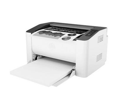 HP Laser 107W Wireless Printer White.