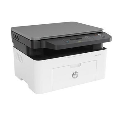 HP Laser MFP 135W Wireless Printer, White.