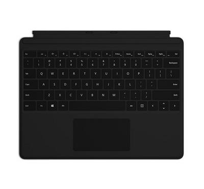 مايكروسوفت سيرفس برو اكس، لوحة مفاتيح، أسود