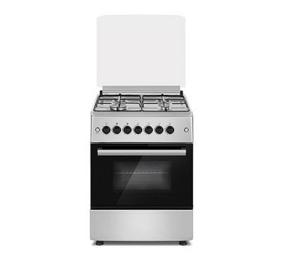 Daewoo Gas Cooker, 60x60, 4 Burner, Freestanding, Inox