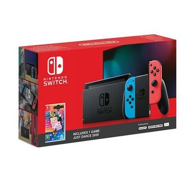 Nintendo Switch Console Just Dance 20 Edition