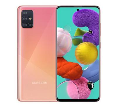 Samsung Galaxy A51, 128 GB, Pink