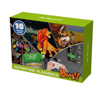 Adventure Flashback Blast with 10 Build-In Games