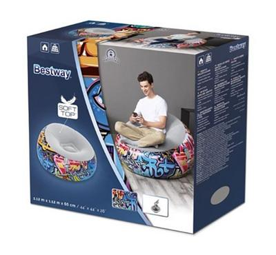 Bestway Graffiti Inflate-A-Chair