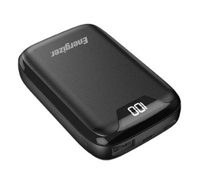 Energizer Power Bank Charger with LCD Screen, 10000mAh, Black