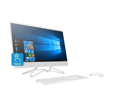 HP AIO Desktop, Core i5, 1TB, 8GB RAM, 23.8-inch Touchscreen, White.