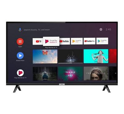TCL 32-inch Smart LED TV, Full HD, Android, Black.