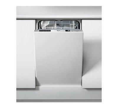 Whirlpool Dishwasher, Built-in, 6 Programs, Silver