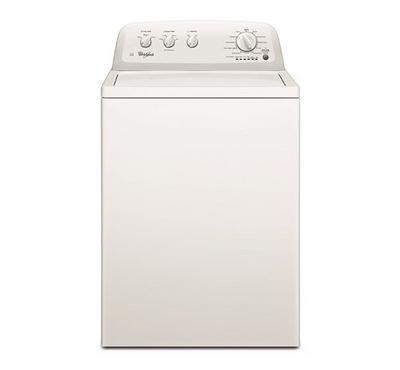 Whirlpool Washing Machine, 8kg, HE Agitator, 11 Programs,White