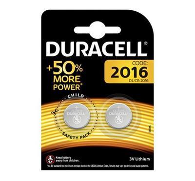 Duracell Batteries lithium Coins 2016 2PK