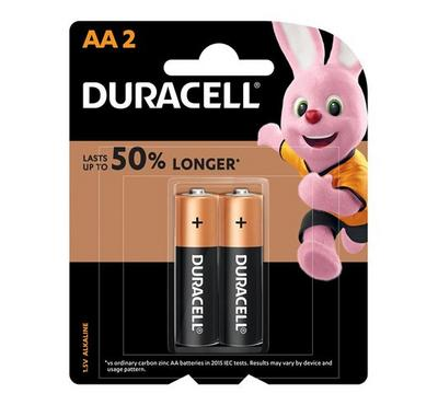 Duracell,Copper Black AA 2pk Monet