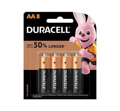 Duracell, Copper Black AA 8pk Monet