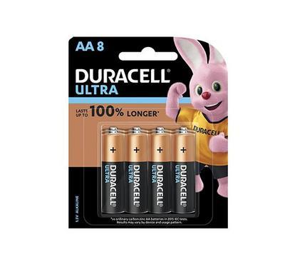 Duracell, Ultra AA 8pk Monet