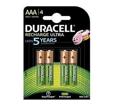 Duracell, Recharg Batteries AAA 4 PK