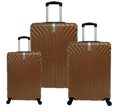Travel Home, Set Of 3 Luggage Trolley Case